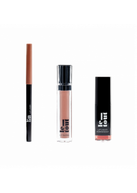 Pack Lips: Lip Liner + Gloss + Permanent